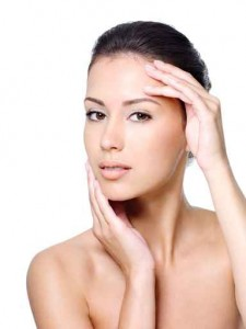 Beauty portrait of woman with healthy skin